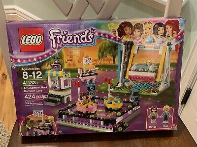 Lego Friends 41133 Amusement Park Bumper Cars Retired 100% Complete