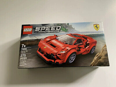 NEW Lego Speed Champions, Ferrari F8 Tributo, 76895, 275 Pieces