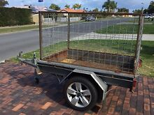 6 X 4 box trailer with 1 mtr cage Rockingham Rockingham Area Preview