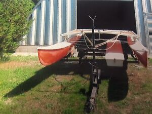 16ft Hobie Cat with trailer