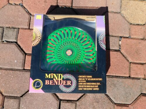 Halloween MIND BENDER PSYCHEDELIC Light Show for Black Light NEW HIPPIE