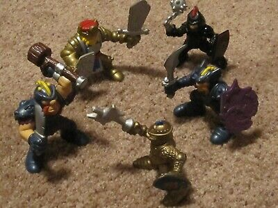 Fisher Price Vikings Knights Lot of 5 Great Adventures Castle Vintage 1994 1999