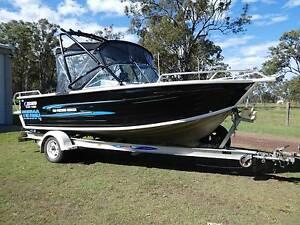 Quintrex 560 Freedom Cruiser Maryborough Fraser Coast Preview