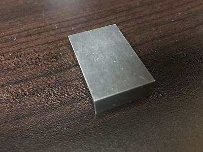 Tungsten Carbide Rect. Gage Block .870