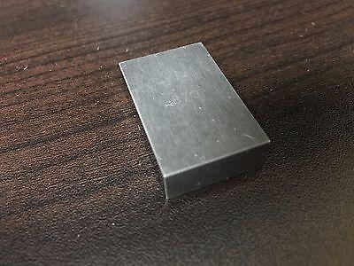 Tungsten Carbide Rect. Gage Block .870