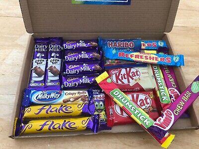 Chocolate & Sweets Selection Hamper Box-Treat-Cadbury-Nestle-Kinder-Haribo