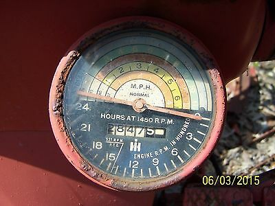 Ih International Farmall 450 Tractor Tachometer