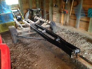 16ft boat trailer black 500