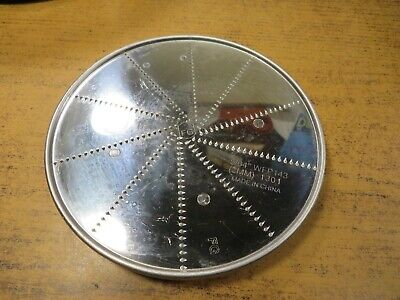 Fine Grating Disc Wfp143 564 2mm For Waring Commercial Food Processor Wfp14s