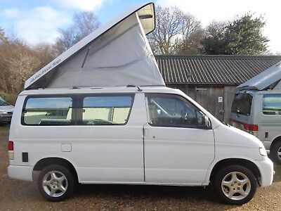 Mazda Bongo 2000 2.0 petrol with new full rear camper conversion with toilet.