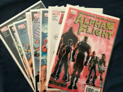 Alpha Flight (Marvel, 2004) #1,2,3,4,5,6,7,9 VF/NM