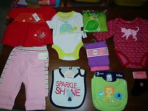 0-6 months baby items (new)