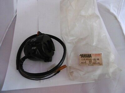 <em>YAMAHA</em> GENUINE NOS HANDLEBAR SWITCH 1A8 83963 00 98 XS650 XS500 XS400