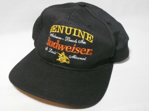 True Vintage 1995 Budweiser Beer Alcohol Advertising Snapback Hat Cap