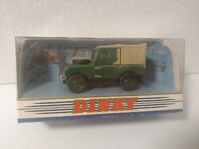 MATCHBOX DINKY DY-9 1949 Land Rover Military Green 1/43 Diecast Jeep