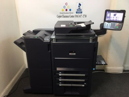 Kyocera Taskalfa 7550ci Copier Printer Scanner Fax Finisher Low Meter 388k 75ppm