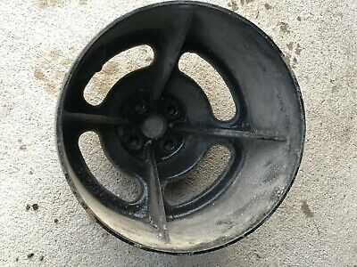 Oliver 77 88 Tractor Steel Belt Pulley Part K691a - Might Fit Other Tractors