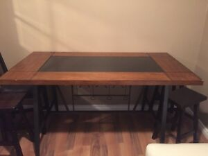 Dining Table & Bench Seat