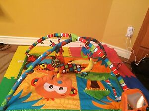 Jungle playmat/ activity with music