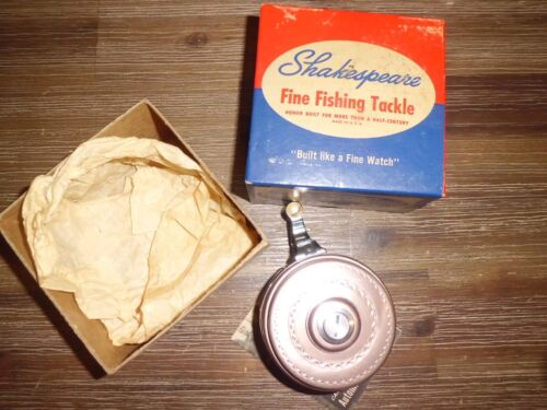Vintage Shakespeare Tru-Art 1836 FC Automatic Fly Reel- USA w/ Box & Papers