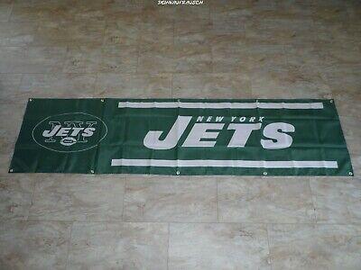 New York Jets NFL Banner / Fahne / Flagge - Football - ca. 240x60 cm - NEU