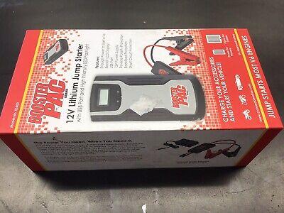 12 V/500 Amp, Lithium Jump Starter TCB-ES400 Brand New!