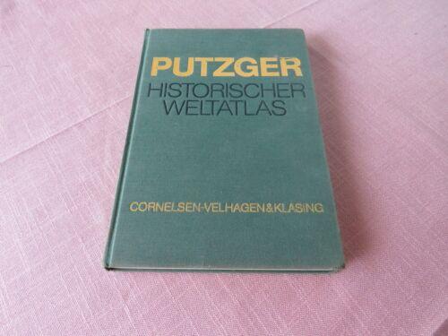 PUTZGER Historischer Weltatlas - 100. Auflage - 2. Druck 1980