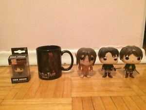Never used Attack on Titan POP Figures