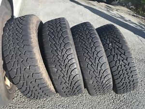 Goodyear Nordic Winter 185 /65R14 Tires and rims for sale