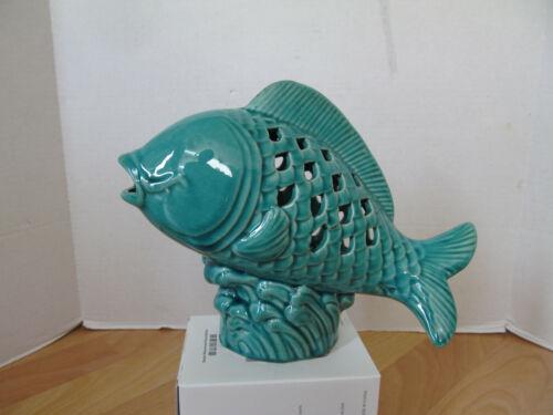 Ceramic Tropical Fish Statue