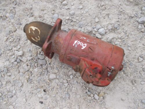 Co op E3 E 3 coop tractor working engine motor starter assembly