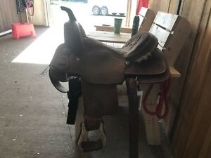 "15"" Jerry Beagley Barrel Saddle"