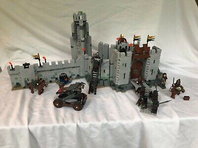 LEGO Lord Of The Rings 9471 9479 BATTLE OF HELMS DEEP and URUK-HAI ARMY