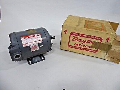 Dayton 2n879k 13 Hp Electric Motor 1140 Rpm F56 Frame 3 Ph 208-220440v