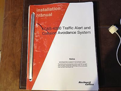 Collins TCAS 4000 Install manual