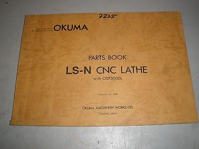 Okuma Ls-n Cnc Lathe W Osp3000l Control Parts Manual