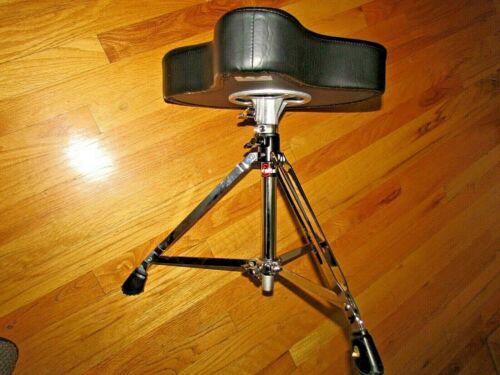 GIBRALTAR Adjustable Folding Padded Seat Chair Drum Throne / Stool