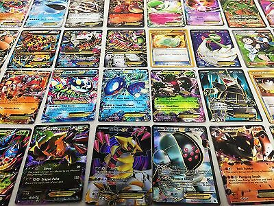 Pokemon Tcg   100 Card Lot Rare  Com Unc  Holo   Guaranteed Ex  Mega Or Full Art