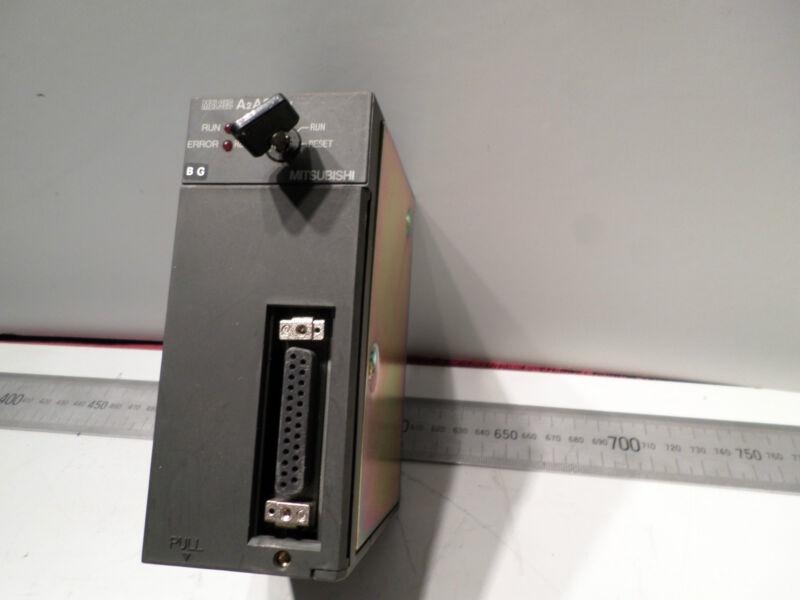 MITSUBISHI MELSEC - PLC CPU PROCESSOR MODULE  -- A2ASCPU - 14k STEPS -