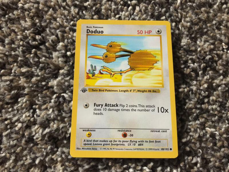 Pokemon Card Japanese Doduo No 084 Glossy Vending Series 1 EX