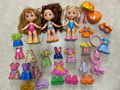 Large Lot Fisher Price Snap N Style Dolls Clothing & Accessories