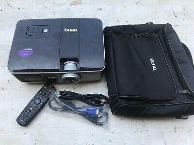 BenQ MX763 Projector, 3700 lumen, XGA, HDMI, network, case, spare bulb, remote