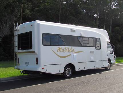 Matilda Motorhome with EXTRA FEATURES