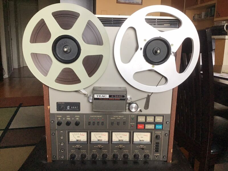 TEAC A-3440 Reel to Reel 4-channel MULTITRACK TAPE RECORDER w/Simul-Sync