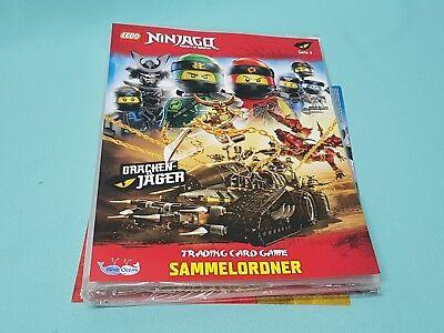 Lego® Ninjago™ Serie 4  Trading Card Game  Sammelmappe Mappe leer Neu