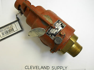 Teledyne Farris 1875-ol Safety Relief Valve 140 Set Pressure 1npt Nos Condition