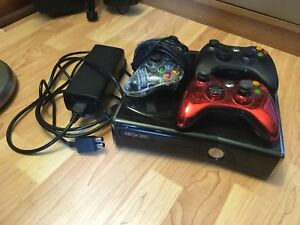 Xbox 360 console + controllers for sale