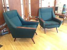 Mid Century Danish Armchairs. Retro Vintage Eames Lounge chair West Perth Perth City Preview