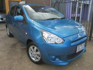 2013 MITSUBISHI MIRAGE ES SPORT AUTO 5DR HATCH Thomastown Whittlesea Area Preview