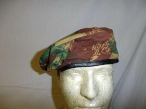 e4342-60 French Algerian War Camouflage Camo Beret size 60 W8B